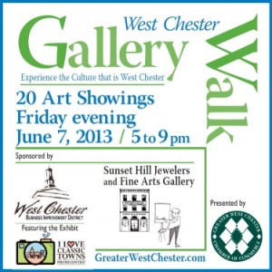 The info for Gallery Walk 2013
